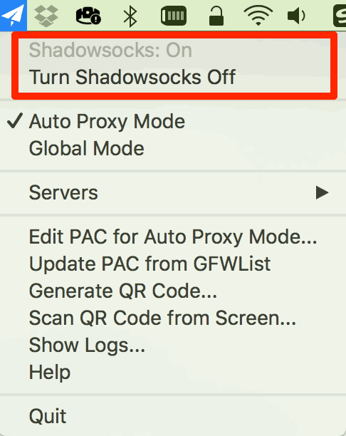 shadowsocks global proxy mac
