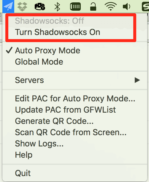 shadowsocks off mac