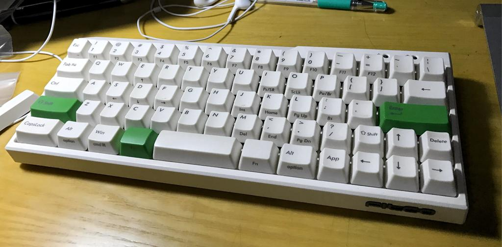 minila with original keycaps